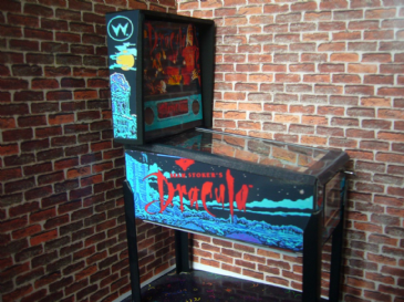 Bram Stokers Dracula 1/12th Scale Miniature Pinball Table Model